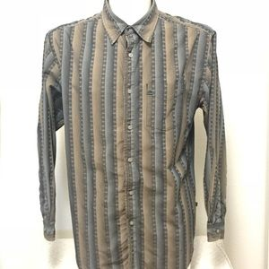 The North Face A5 Series Sz M Long Sleeve Striped